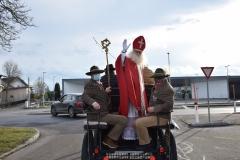 Nikolaus - Kutschenfahrt Pferdezentrum Stadl-Paura (06.12.2020)