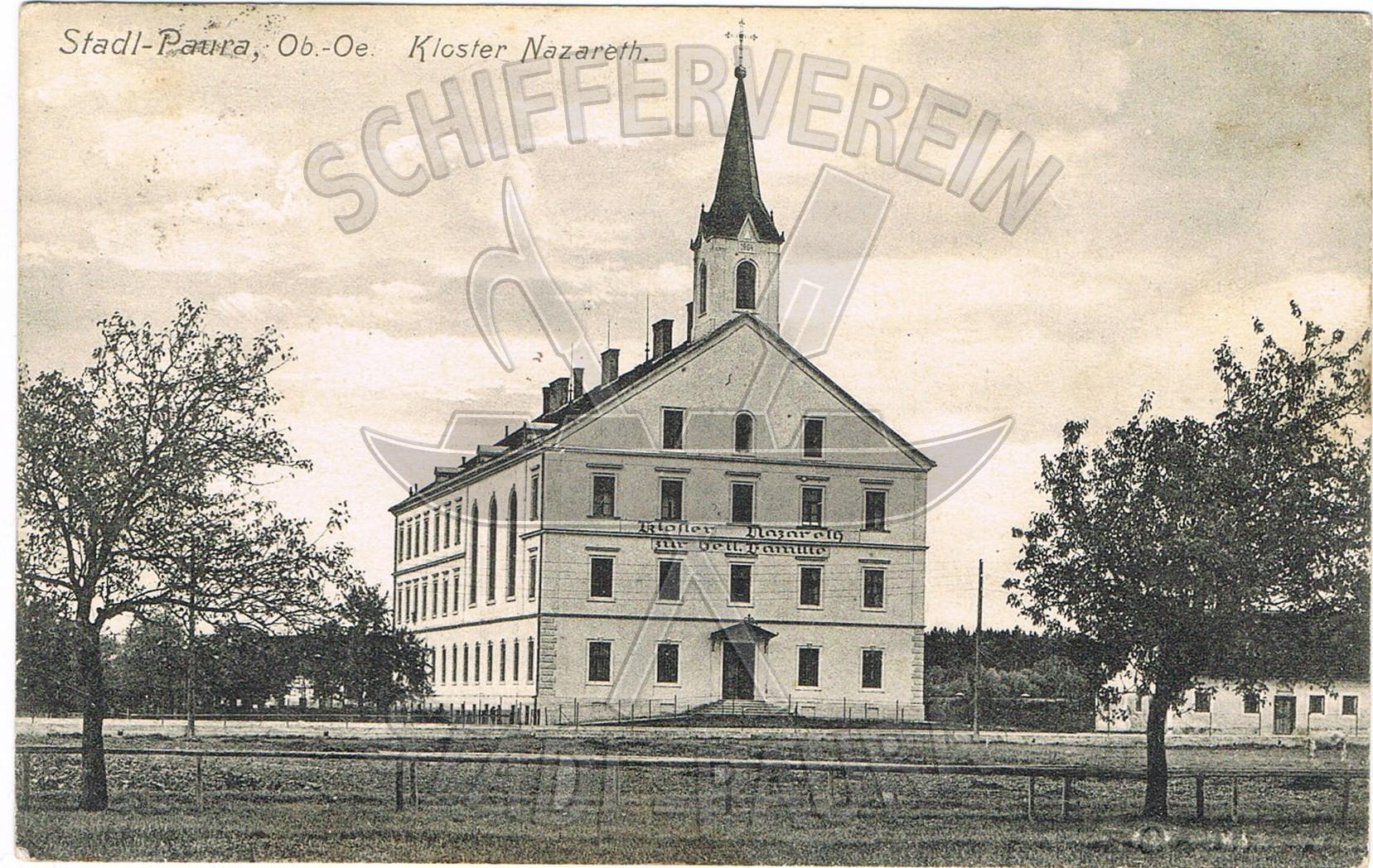 1.15 Foto von 1914 Kloster Nazarethwz