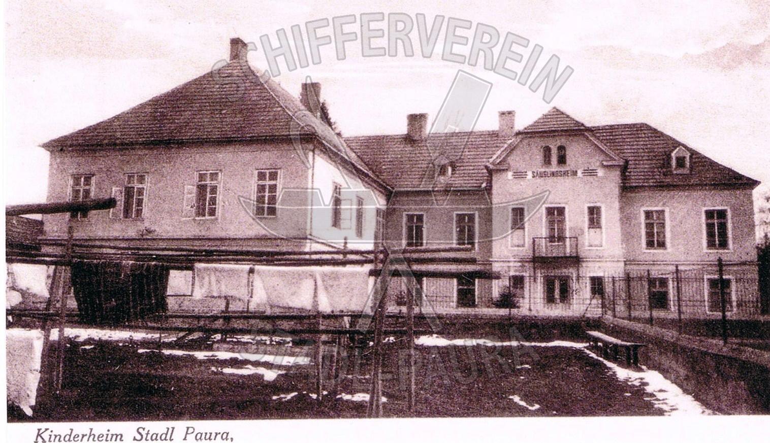 110   Kinderheim der Flachsspinnerei 1920wz