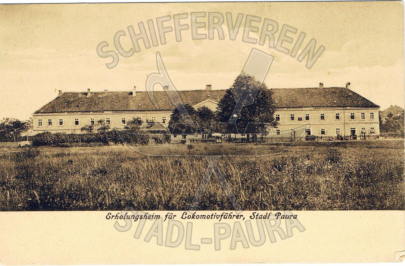 89  Ehemalige Pferdeeisenbahn Gebäude Erbaut 1834 Erholungsheim für Lokomotivführerwz
