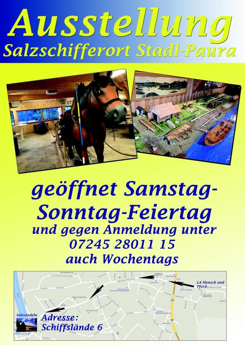 Plakat Hinweis Ausstellung